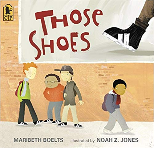 Those shoes book by maribeth boelts