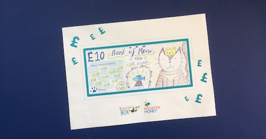 Kids money activities - Design your own bank note