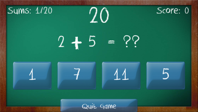 Simple Sums Free - Maths Game for Children