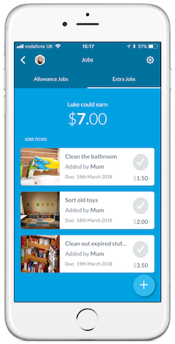 Chore Chart App RoosterMoney