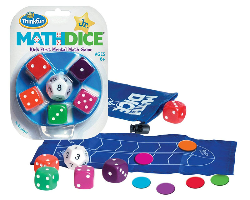 Math Dices games for kids