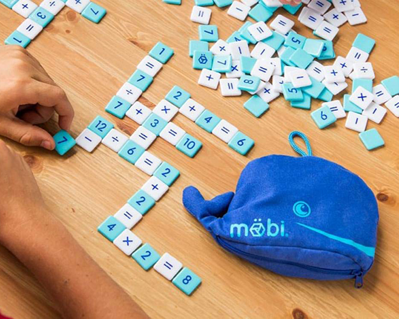 Maths scramble for kids