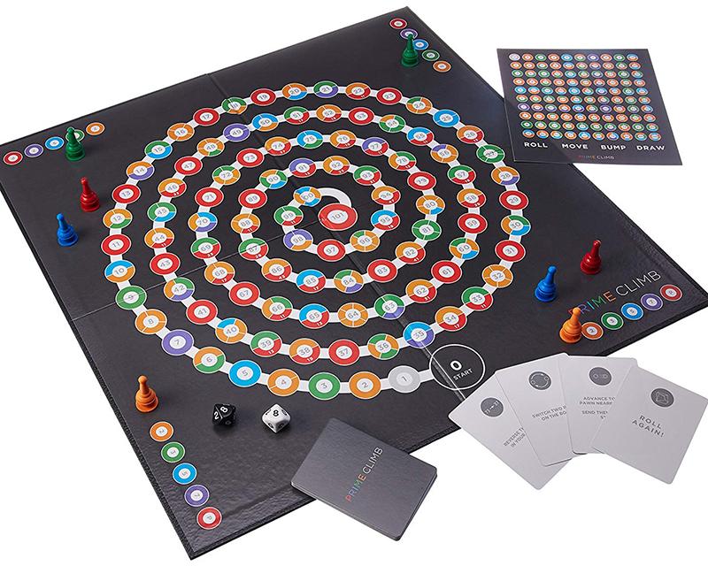 Prime Climb Board game